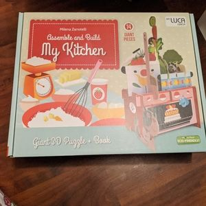 Assemble and Build My Kitchen